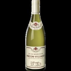 Mâcon Villages blanc BOUCHARD PERE ET FILS 2016, bouteille de 75cl