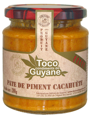 TOCO PIMENT CACAHUETE 280G