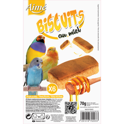 Biscuits miel AIME, x6 90g
