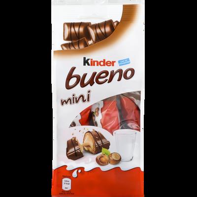 KINDER bueno mini, sachet de 20 pièces, 108g