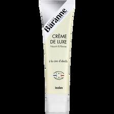 Cirage crème de luxe à la cire d'abeille incolore BARANNE, tube de 100ml