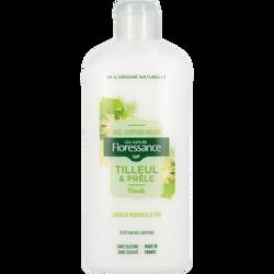 Après shampooing infusion tilleul et prêle pour cheveux normaux à fins FLORESSANCE, flacon de 200ml