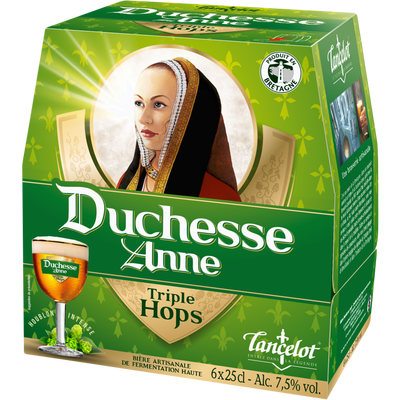 Bière blonde DUCHESSE ANNE triple Hops 7,5° ,6 bouteilles de 25cl