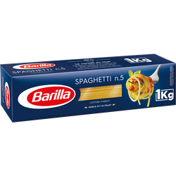 Spaghetti n°5 BARILLA, 1kg