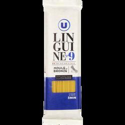 Pâtes Italiennes linguinei n°9 U, paquet de 500g
