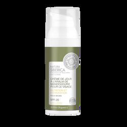 Crème de jour pour le visage à l'aralia de manchourie SPF 20 NATURA SIBERICA, tube de 50ml