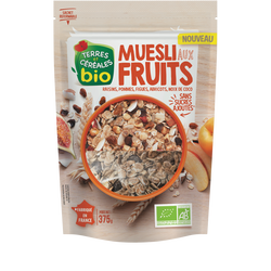 MUESLI FRUITS 375G