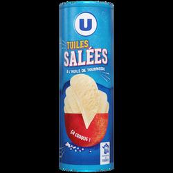 Tuile goût salé U, paquet de 170g