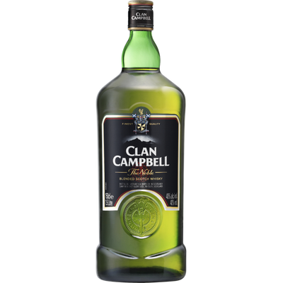 Scotch whisky CLAN CAMPBELL, 40°, 1,5l