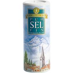 Sel fin cœur des Alpes SALINE DE BEX, 250g