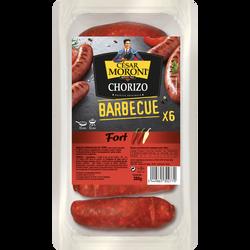 Chorizo fort barbecue ou à poêler césar MORONI, 280g