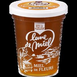 Miel de fleurs liquide LUNE DE MIEL, 1kg