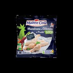 Ailes de poulet bio MAITRE COQ, sachet de 550g