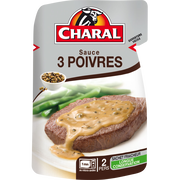 Charal Sauce Aux 3 Poivres, Charal, 120g
