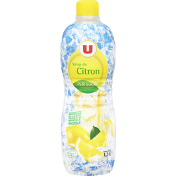 Sirop de citron U, bidon de 1,3l