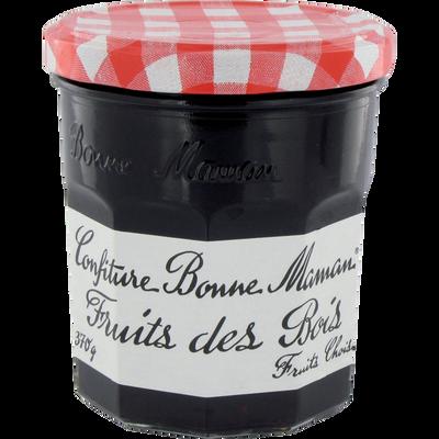 Confiture de fruits des bois BONNE MAMAN, bocal de 370g