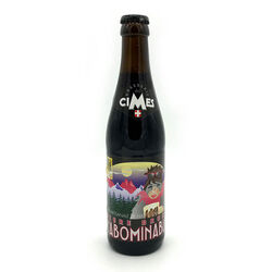 BIERE BRUNE L'ABOMINABLE