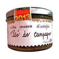 *Pâté de Campagne Supérieur 220gr Lucien Georgelin Vieilles conserves d'Autrefois
