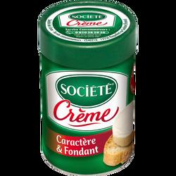 Fromage fondu au lait pasteurisé de brebis 23% de matière grasse SOCIETE,  pot de 100g