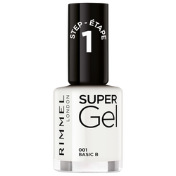 Vernis à ongles super gel 001  pure white RIMMEL, nu, 12ml