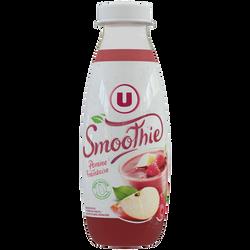 Smoothie pomme framboise U, 50cl