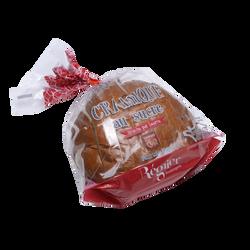 Brioche cramique au sucre décongelé, SAVEURS EN OR, 1 pièce, 400g