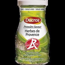 """Herbes de Provence Label Rouge """"Sélection"""" DUCROS, 45g"""