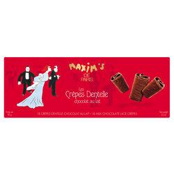Étui 18 crêpes dentelle chocolat MAXIM'S DE PARIS BY EPICURE Sélection