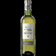 Bordeaux AOP blanc sec CHATEAU DESON, bouteille de 75cl