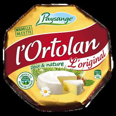 Fromage au lait pasteurisé L'Ortolan FROMAGERIE MILLERET 29%mg 250g