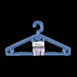 Cintres à économie de place avec crans anti glisse U MAISON, enplastique, 4 unités
