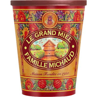 Le grand miel de FAMILLE MICHAUD, pot de 1kg