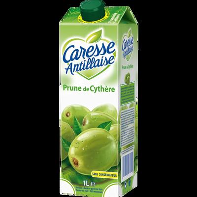 Nectar de prunes de cythère sans sucre CARESSE ANTILLAISE, briquet de1l