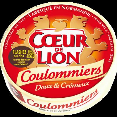 Coulommiers lait pasteurisé, 23% de MG COEUR DE LION, 350G