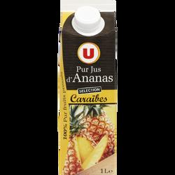 Pur jus d'ananas des Caraïbes U, 1l