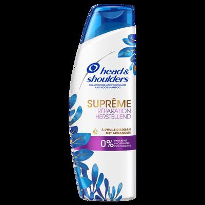 Shampooing suprême réparation 0% paraben, phosphate, colorant HEAD&SHOULDERS, 270ml