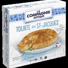 La Compagnie Artique Tourte Aux St Jacques , 400g