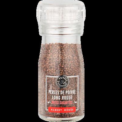 Perles de poivre rouge ALBERT MENES, moulin de 50g