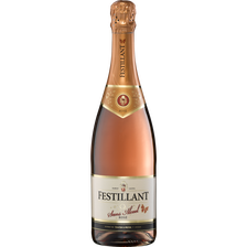 Festillant Vin Rosé Effervescent Désalcoolisé  À Base De Vin, 75cl