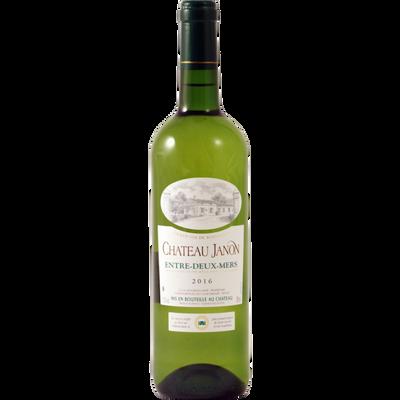"""Vin blanc AOP Entre Deux Mers """"Château Janon"""" MDC, bouteille de 75cl"""