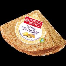 Paysan Breton Crêpes À La Vanille , 12 Unités, 370g