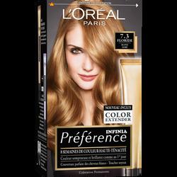 Coloration permanente Préférence Récital Floride, blond doré, n°7.3