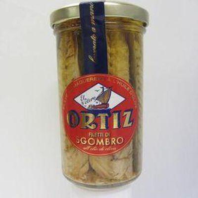 Filets de maquereau à l'huile d'olive ORTIZ ,250g