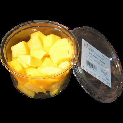 Duo ananas/mangue, barquette, 250g