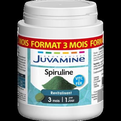 JUVAMINE spiruline format cure longue comprimés x90