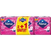 Nana Serviettes Ultra Normal Plus Nana, 2 Paquets De 14 + 1 Offert