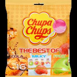 Sucettes assorties The Best Of CHUPA CHUPS, sachet de 192g