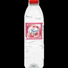 Boisson à base d'eau de source aromatisée à la Fraise U, 1,5L