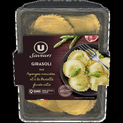 Girasoli aux asperges marinées pancetta rôtie U SAVEURS, 250g