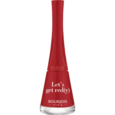 Vernis à ongle 1s 09 - Let's get red(y) BOURJOIS, 9ml